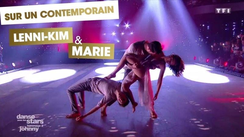 DALS S08 - Lenni-Kim, Marie Denigot et Nicolas Archambault réalisent une danse contemporaine (Diego)