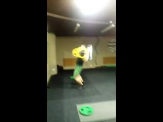 Присед плие 80 кг. Тренер Антон Пантюхов