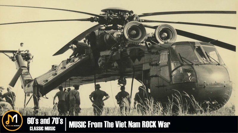 Best Rock Songs Vietnam War Music | Best Rock Music Of All Time | 60s and 70s Classic Rock Songs
