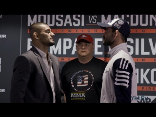 Bellator 206 Media Day Staredowns