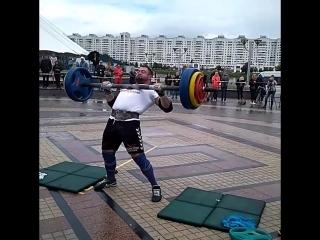 Михаил Ходяков (Беларусь), ось Аполлона - 160 кг💪🇧🇾Minsk Strong Battle - 2018🇧🇾