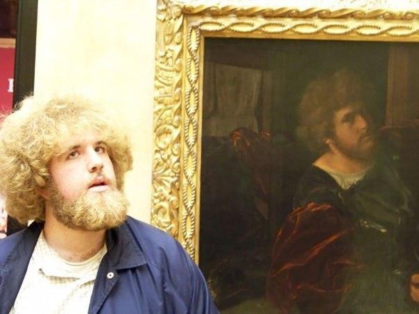 Люди, нашедшие своих 'двойников' в произведениях изобразительного иску