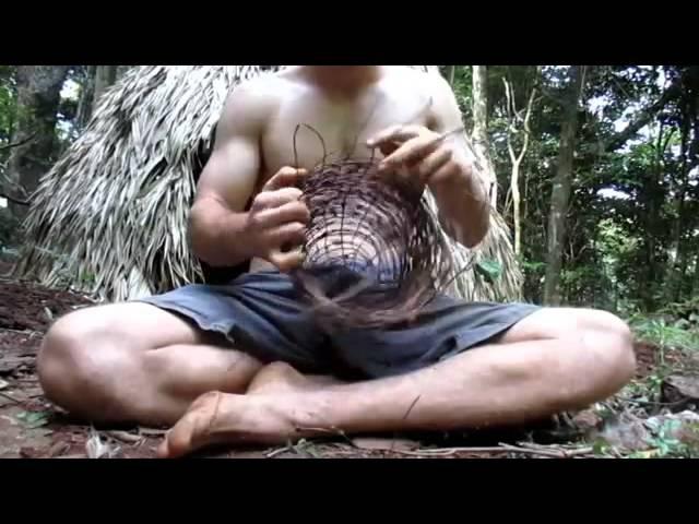Выживание в лесу(Реальная жинзь)5 Как сделать еду в лесу.