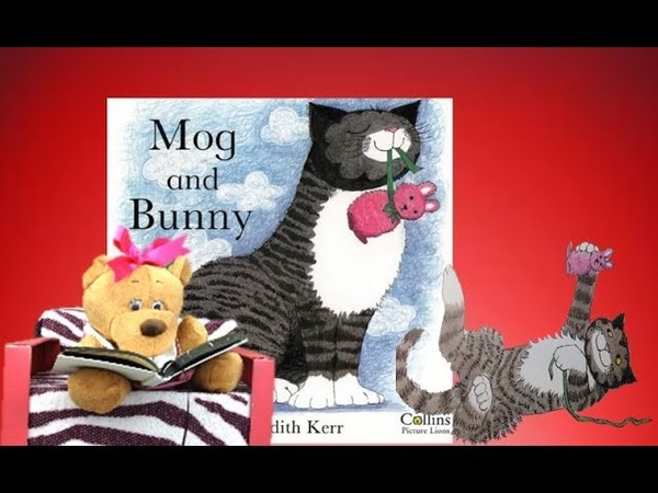 Story Time With Britney The Bear - Mog And Bunny