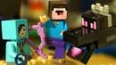 ЛЕГО Майнкрафт 2019 ВСЕ НАБОРЫ - Эндер Дракон и Лего НУБик Мультики и Анимация для Детей