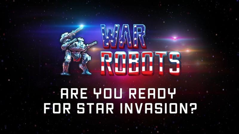War Robots NEW EVENT 🔥 STAR INVASION in War Robots trailer