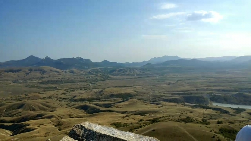 Крым. Юго-восток. Вид с горы Коклюк.mp4