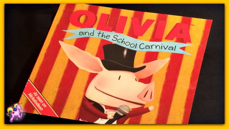 OLIVIA AND THE SCHOOL CARNIVAL - Olivia Read Aloud - Storybook for kids, children adults