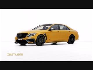 """Brabus Mercedes S Class The Rocket 900 """"Desert Gold"""""""