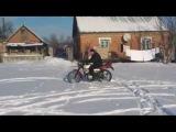 Жизнь в селе 2012 зима