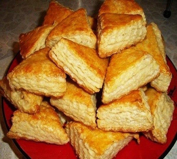 Печенье на кефире, от которого гостей не