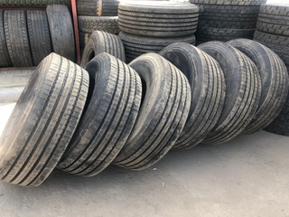 Ещё один довольный клиет 👍 Установили новые шины 385/65r22.5 Michelin усиленные 156к 6шт Клиенту за все обошлось 228000₽