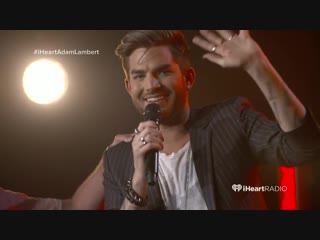 Adam lambert, you're so perfect! or Ow, he's touched my ass!