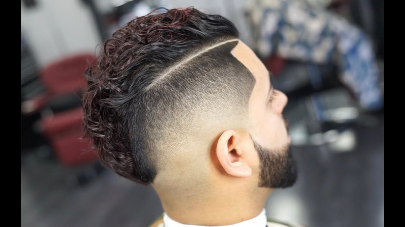 The Comb Over/ Mohawk Mens Haircut