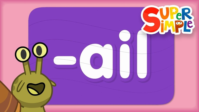 Word Family ail Turn And Learn ABCs Super Simple ABCs