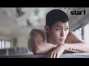앳스타일(@star1) 2013년 8월호 김현중 화보 촬영현장