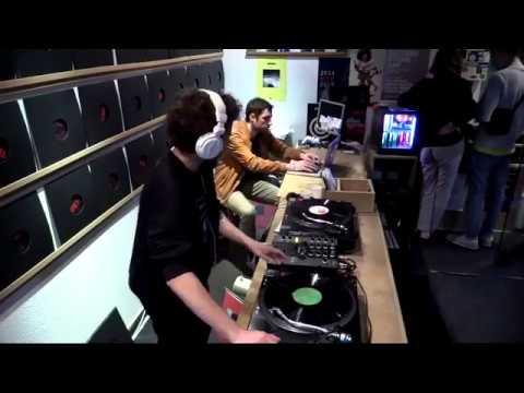 Berllioz, Hélio from Pandilla LTD, Guy from 1990, Roger Mateus, Mito, Straka, Lournco lvgs, Fernando Martinez, Thelmo -- FLMB001 Seafoam Render EP Launch Party @ Carpet Snares Records Lisbon