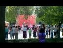 Выступление ансамбля Околица на этнофестивале Гостинный двор