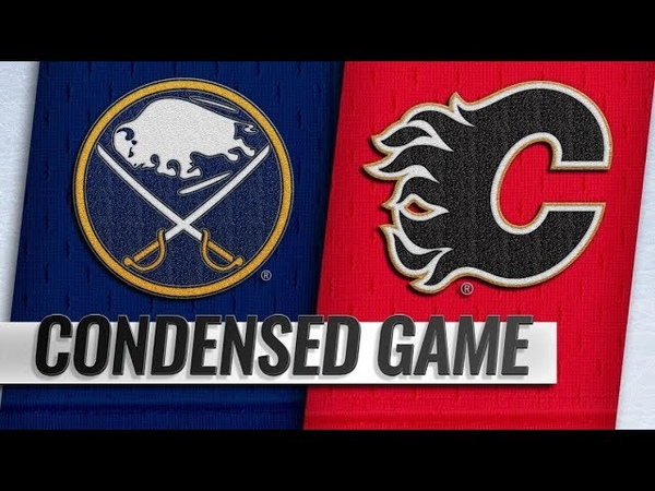 Buffalo Sabres vs Calgary Flames Jan 16 2019 Game Highlights NHL 2018 19 Обзор матча