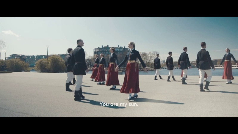 Lec, saulīte - veltījums Latvijai simtgadē