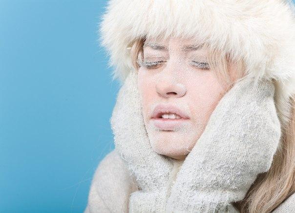 Как защитить кожу от холода →