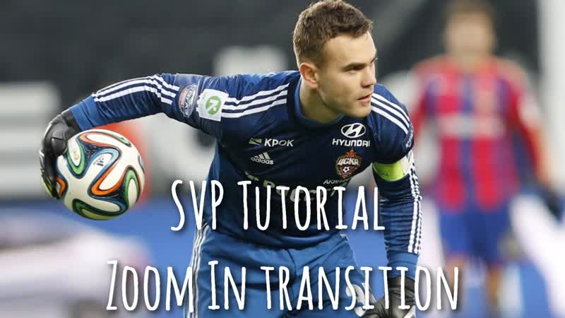 SVP Tutorial / Zoom in transition