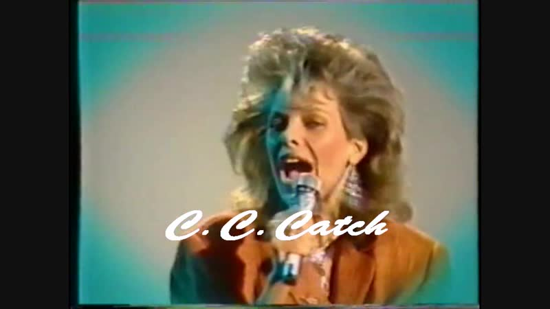 C.C. Catch - Cause Youre Young (ZDF, Tele-illustrierte, 22.01.1986)