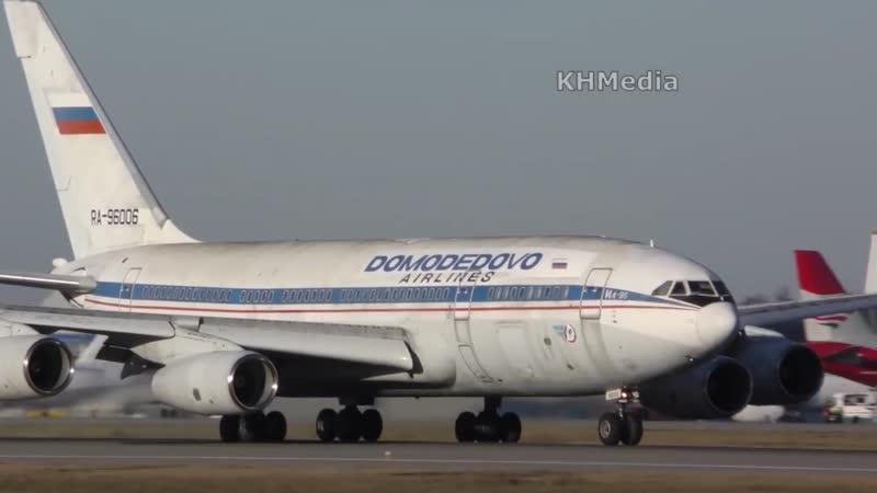 Он полетел, третий Ил-96 RA-96006 DME 2018, Домодедово, Домодедовские Авиалинии