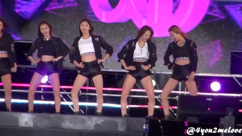 [FANCAM] EXID - Ah Yeah Up Down 151003 Gangwon K-pop Concert