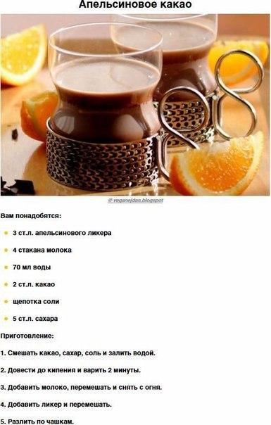 Какао очень вкусное рецепт