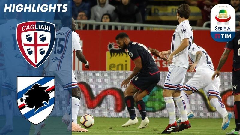 Cagliari 0-0 Sampdoria | No Winner at the Sardegna Arena | Serie A