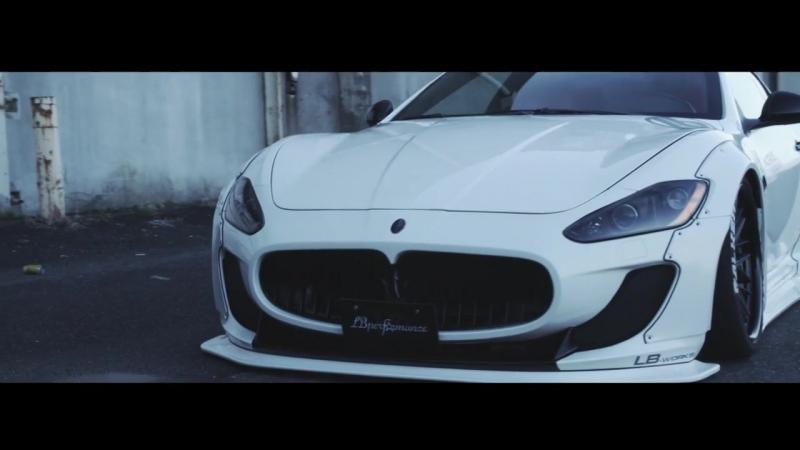 Maserati GranTurismo Liberty Walk Vossen x Work Wheels VWS-3