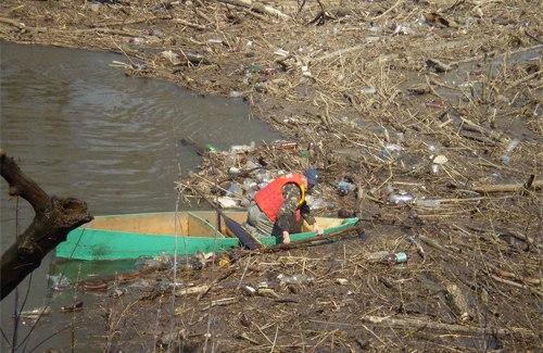 спасатели расчистили затор на Псле