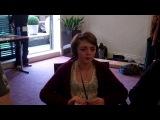 Maisie Williams Fan Interview   Arya Stark Game of Thrones