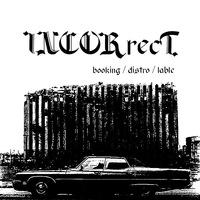 Логотип Incorrect (букинг / лэйбл / дистро)