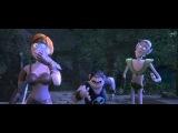 Смешной момент в мультфильме Ронал Варвар