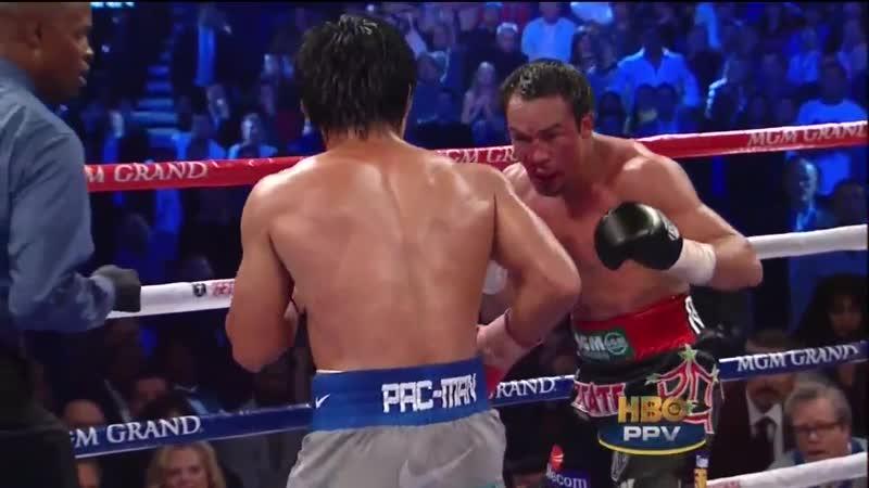 Пакьяо vs Маркес - Нокаут Pacquiao vs Marquez KO