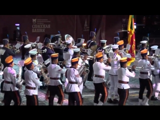 Russian military music festival - 2018