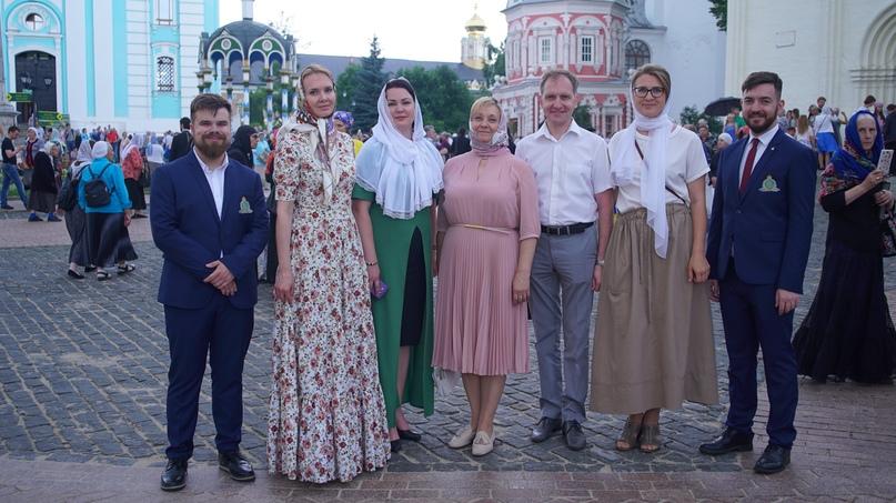 Кинокомпания «Союз Маринс Групп» на Патриаршей службе  в Троице-Сергиевой лавре