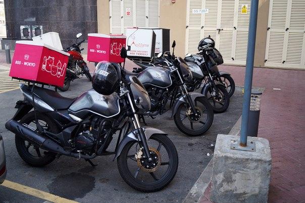 Мотоциклы для доставки пиццы