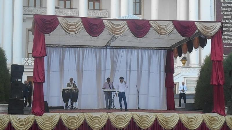 концерт в Средней Азии г. ДУШАНБЕ Таджикистан