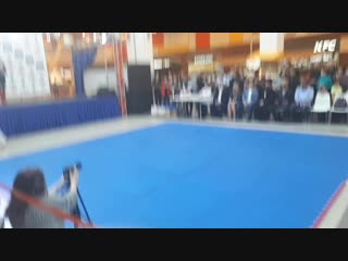 показательное выступление Тюменской городской Федерации Айкидо на Фестивале айкидо ЮГРЫ 2018