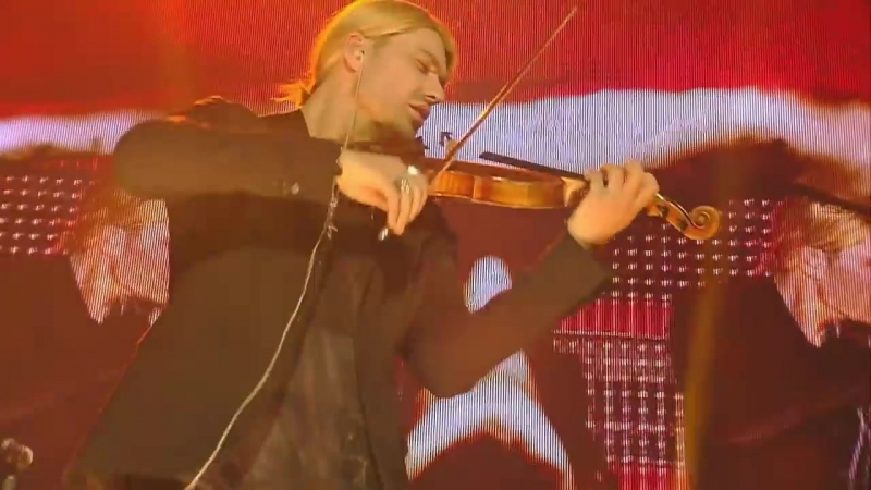 David Garrett - He's a pirate (Сoncert at TUI Arena Hannover 18.04.2012)