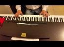 Вальс из к/ф Мой ласковый и нежный зверь (Вальс Евгений Дога) - круто исполняет на пианино кавер