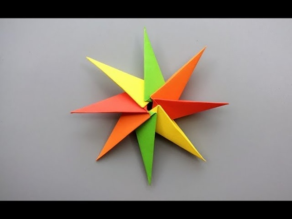 ABC TV | How To Make A Robin Star From Paper - Origami Craft Tutorial