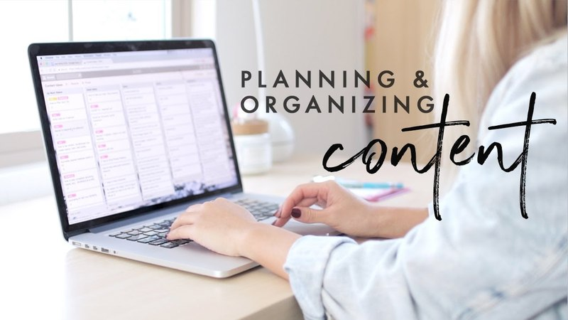 How I Plan Organize My Content for YouTube