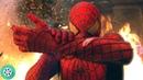 Человек-Паук спасает младенца в горящем доме. | Человек-паук | 2002 год.