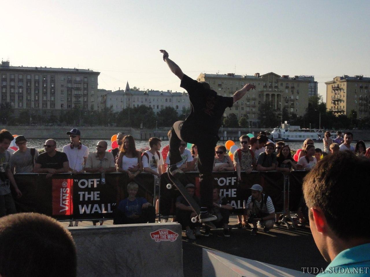 Скейтеры в парке Горького фото
