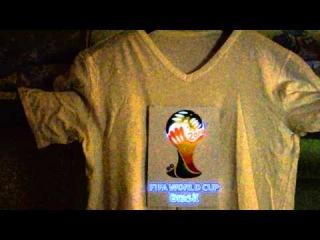 Футболка с эквалайзером FIFA 2014