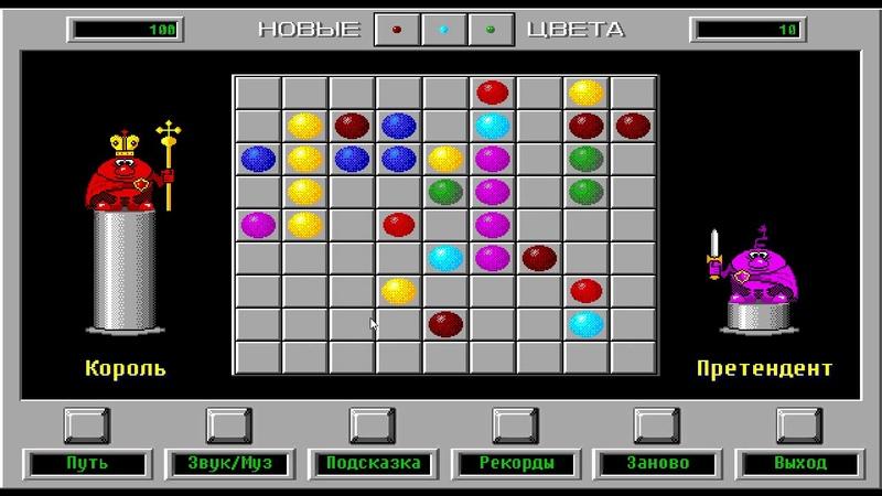 Внезапный обзор на ремейк Color Lines